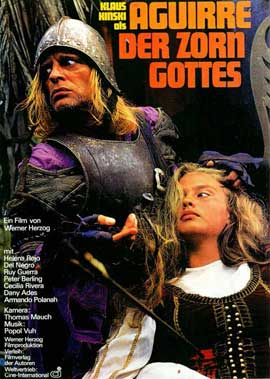 Aguirre, the Wrath of God - 11 x 17 Movie Poster - German Style A