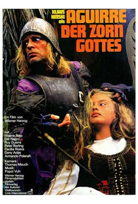 Aguirre, the Wrath of God - 27 x 40 Movie Poster - German Style A