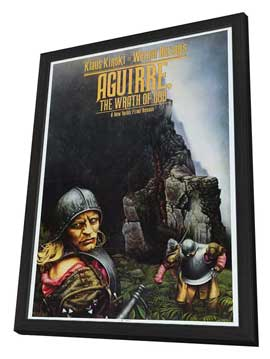Aguirre, the Wrath of God - 11 x 17 Movie Poster - Style A - in Deluxe Wood Frame