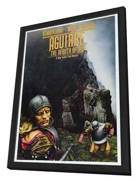 Aguirre, the Wrath of God - 27 x 40 Movie Poster - Style A - in Deluxe Wood Frame