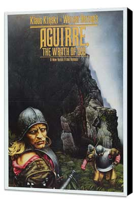 Aguirre, the Wrath of God - 11 x 17 Movie Poster - Style A - Museum Wrapped Canvas