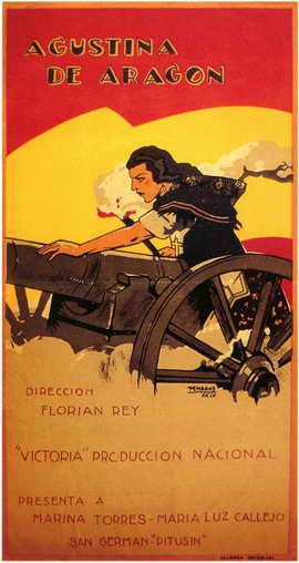 Agustina de Aragon - 11 x 17 Movie Poster - Spanish Style A
