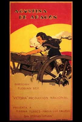 Agustina de Aragon - 27 x 40 Movie Poster - Spanish Style A
