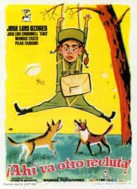 �Ah� va otro recluta! - 11 x 17 Movie Poster - Spanish Style A