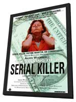 Aileen Wuornos: The Selling of a Serial Killer - 11 x 17 Movie Poster - Style A - in Deluxe Wood Frame