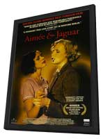 Aimee and Jaguar - 11 x 17 Movie Poster - Style A - in Deluxe Wood Frame