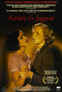 Aimee and Jaguar - 43 x 62 Movie Poster - Bus Shelter Style A