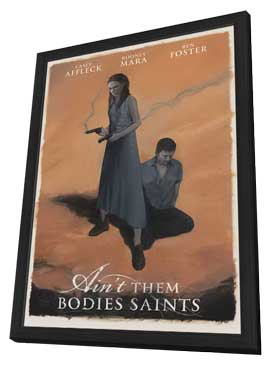 Ain't Them Bodies Saints - 11 x 17 Movie Poster - Style A - in Deluxe Wood Frame