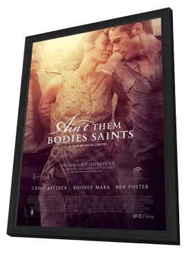 Ain't Them Bodies Saints - 27 x 40 Movie Poster - Style B - in Deluxe Wood Frame