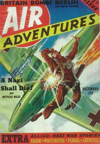 Air Adventures (Pulp) - 11 x 17 Pulp Poster - Style A