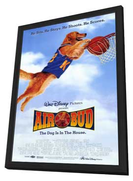 Air Bud: Golden Receiver - 27 x 40 Movie Poster - Style A - in Deluxe Wood Frame