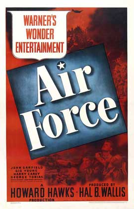 Air Force - 27 x 40 Movie Poster - Style B