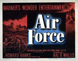 Air Force - 22 x 28 Movie Poster - Half Sheet Style A