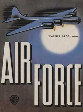 Air Force - 11 x 17 Movie Poster - French Style A