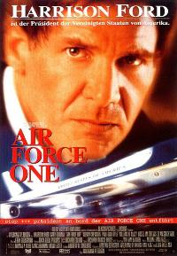 Air Force One - 11 x 17 Movie Poster - German Style A