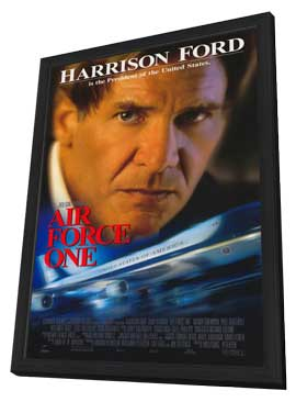 Air Force One - 11 x 17 Movie Poster - Style A - in Deluxe Wood Frame