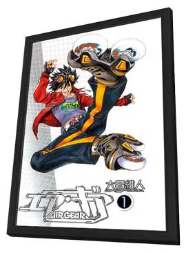 Air Gear (TV) - 11 x 17 TV Poster - Japanese Style A - in Deluxe Wood Frame