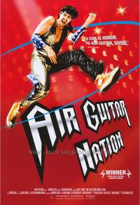 Air Guitar Nation - 43 x 62 Movie Poster - Bus Shelter Style A