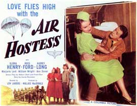 Air Hostess - 11 x 14 Movie Poster - Style A