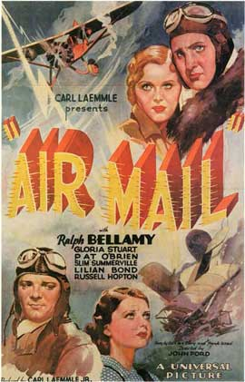 Air Mail - 11 x 17 Movie Poster - Style A