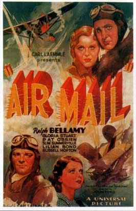 Air Mail - 11 x 17 Movie Poster - Style B
