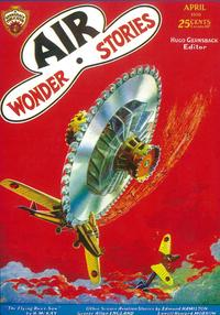 Air Wonder Stories (Pulp), Amazing Stories (Pulp) - 11 x 17 Pulp Poster - Style A