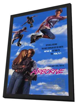 Airborne - 11 x 17 Movie Poster - Style A - in Deluxe Wood Frame