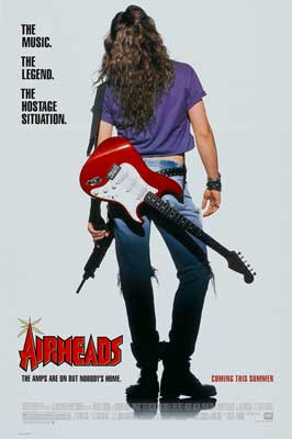 Airheads - 27 x 40 Movie Poster - Style B