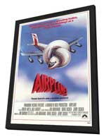 Airplane! - 11 x 17 Movie Poster - Style A - in Deluxe Wood Frame