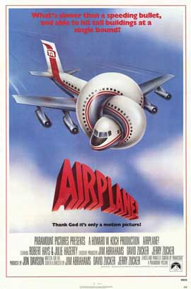 Airplane! - 11 x 17 Movie Poster - Style A