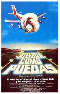 Airplane! - 11 x 17 Movie Poster - Spanish Style A