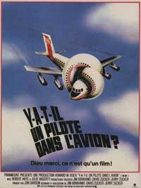 Airplane! - 11 x 17 Movie Poster - French Style A