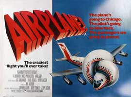 Airplane! - 11 x 17 Movie Poster - Style B