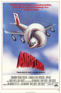 Airplane! - 11 x 17 Movie Poster - Style A - Museum Wrapped Canvas