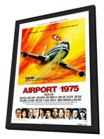Airport 1975 - 27 x 40 Movie Poster - Style A - in Deluxe Wood Frame