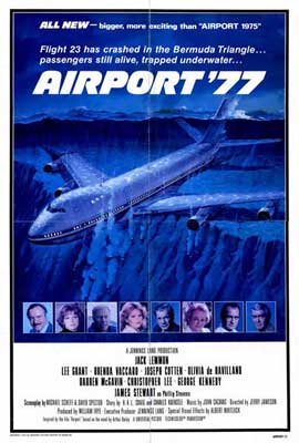 Airport '77 - 27 x 40 Movie Poster - Style A