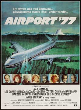 Airport '77 - 27 x 40 Movie Poster - Danish Style A