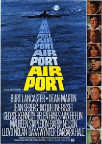 Airport - 11 x 17 Movie Poster - German Style A