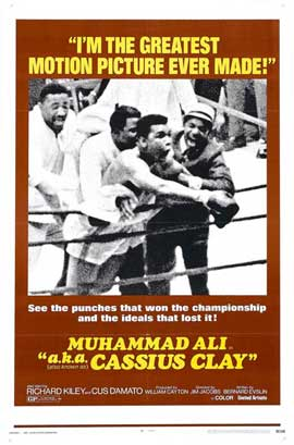 A.k.a. Cassius Clay - 11 x 17 Movie Poster - Style B