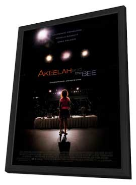 Akeelah and the Bee - 11 x 17 Movie Poster - Style A - in Deluxe Wood Frame
