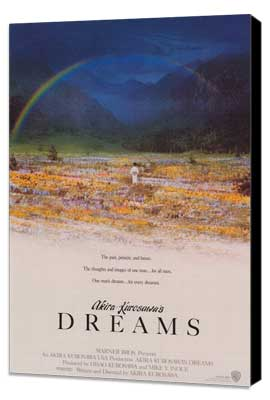 Akira Kurosawa's Dreams - 27 x 40 Movie Poster - Style A - Museum Wrapped Canvas