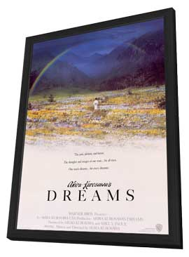 Akira Kurosawa's Dreams - 11 x 17 Movie Poster - Style A - in Deluxe Wood Frame