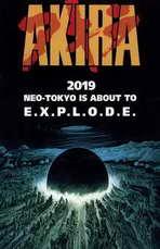 Akira - 11 x 17 Movie Poster - Style E