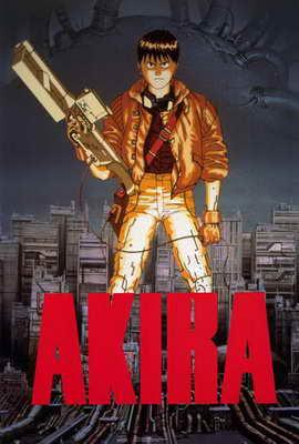 Akira - 27 x 40 Movie Poster - Style A