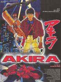 Akira - 11 x 17 Movie Poster - French Style A