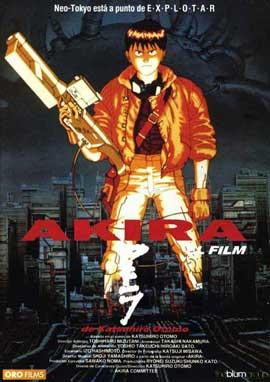 Akira - 11 x 17 Movie Poster - Spanish Style A
