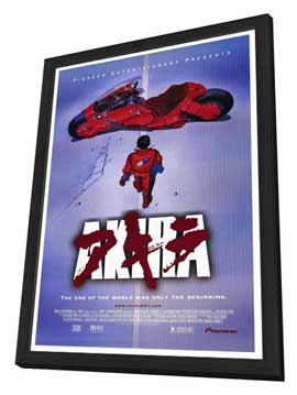 Akira - 27 x 40 Movie Poster - Style B - in Deluxe Wood Frame