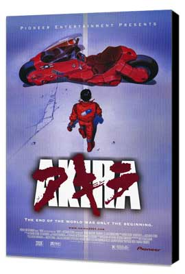 Akira - 11 x 17 Movie Poster - Style B - Museum Wrapped Canvas