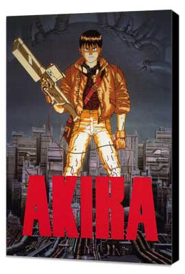 Akira - 27 x 40 Movie Poster - Style A - Museum Wrapped Canvas