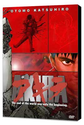 Akira - 27 x 40 Movie Poster - Style C - Museum Wrapped Canvas